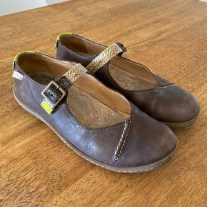 CAMPER Mary Jane leather shoes